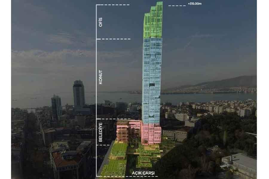 Kültürpark'a gökdelen: İstanbul gibi İzmir'e de ihanet!