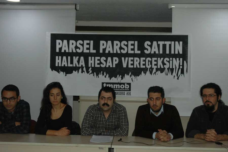 TMMOB: Melih Gökçek Ankara'ya yaptıklarının hesabını vermeli