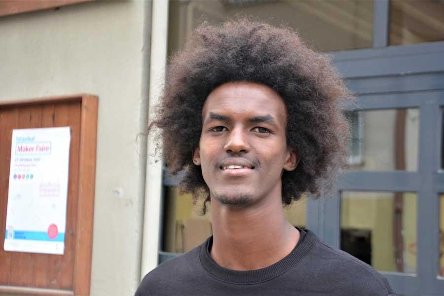 Somalili genç mülteci Abdi Deeq, fotoğraf sergisi açtı