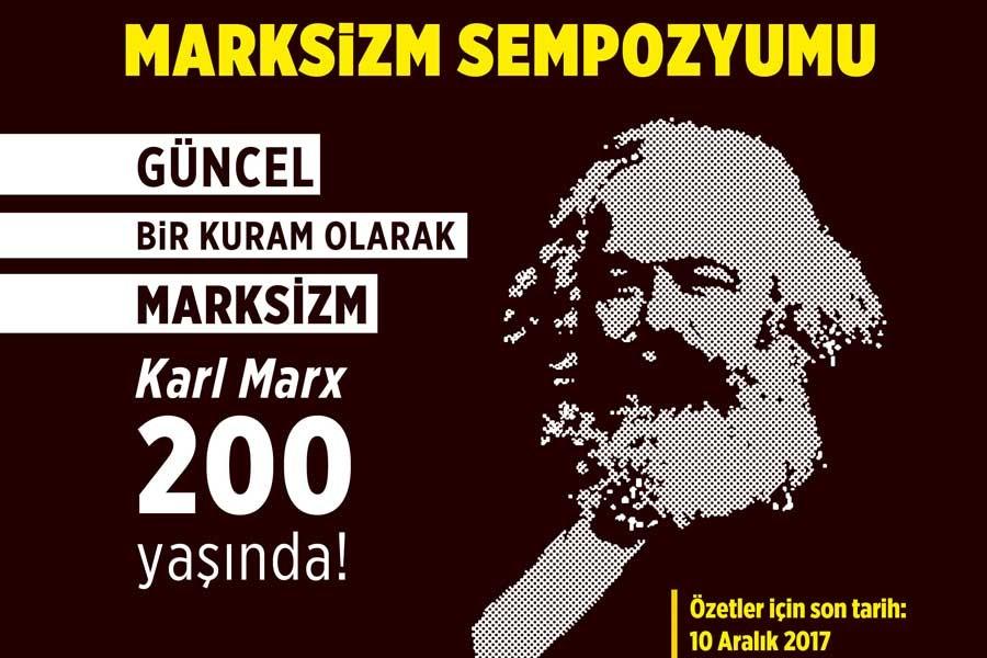 Marksizm Sempozyumu için davet