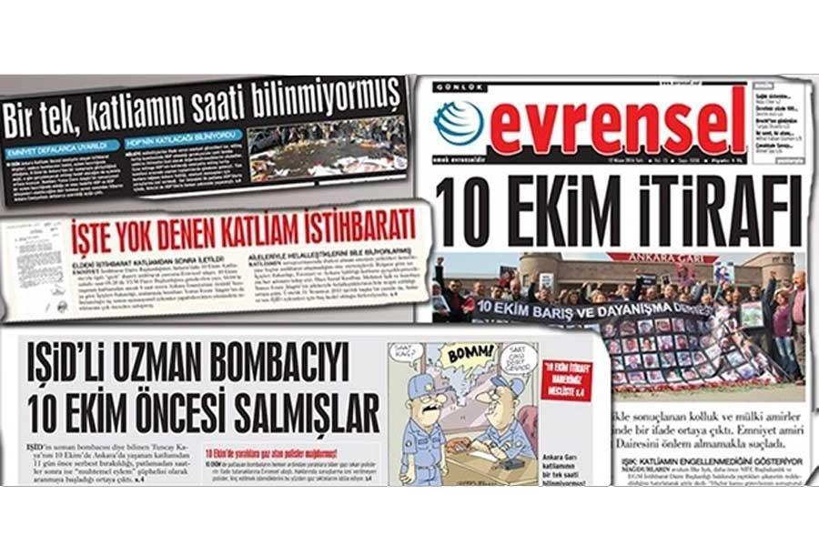 10 Ekim Katliamı'ndaki  ihmali haber yapmak  suç değildir!