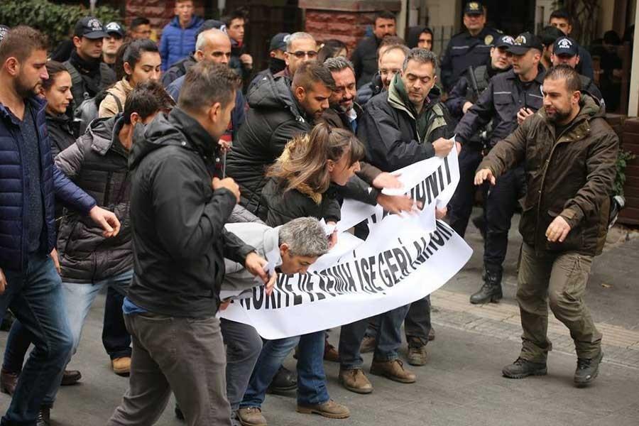 Yüksel'de 362'nci gün: 3 kişi gözaltına alındı