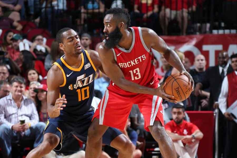 NBA'de gecenin sonuçları: Harden'dan Jazz'a 56 sayı