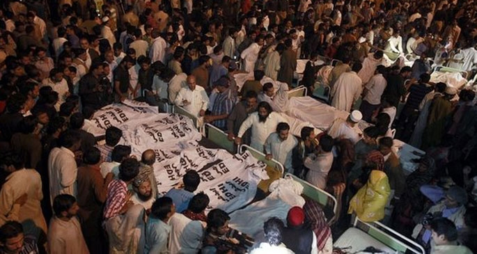 Pakistan'da intihar saldırısı: 55 ölü