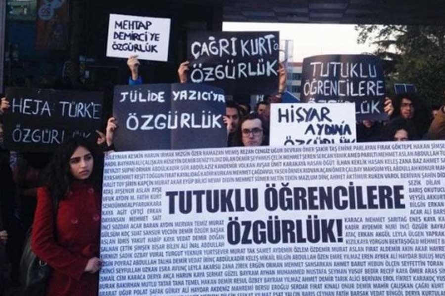 7 öğrenciye toplam 46 yıl 4 ay hapis cezası
