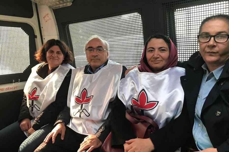Yüksel'de gözaltına alınan İHD yöneticileri serbest