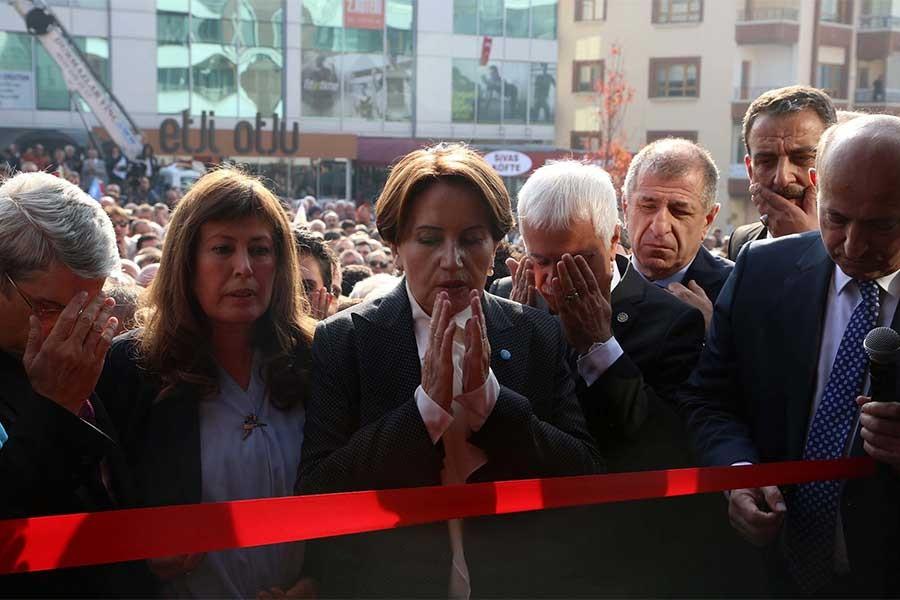 İYİ Parti Genel Merkezi açıldı