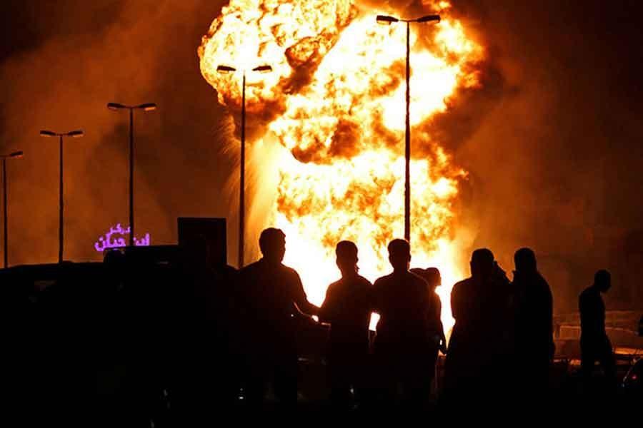 Bahreyn, boru hattı yangınından İran'ı sorumlu tuttu