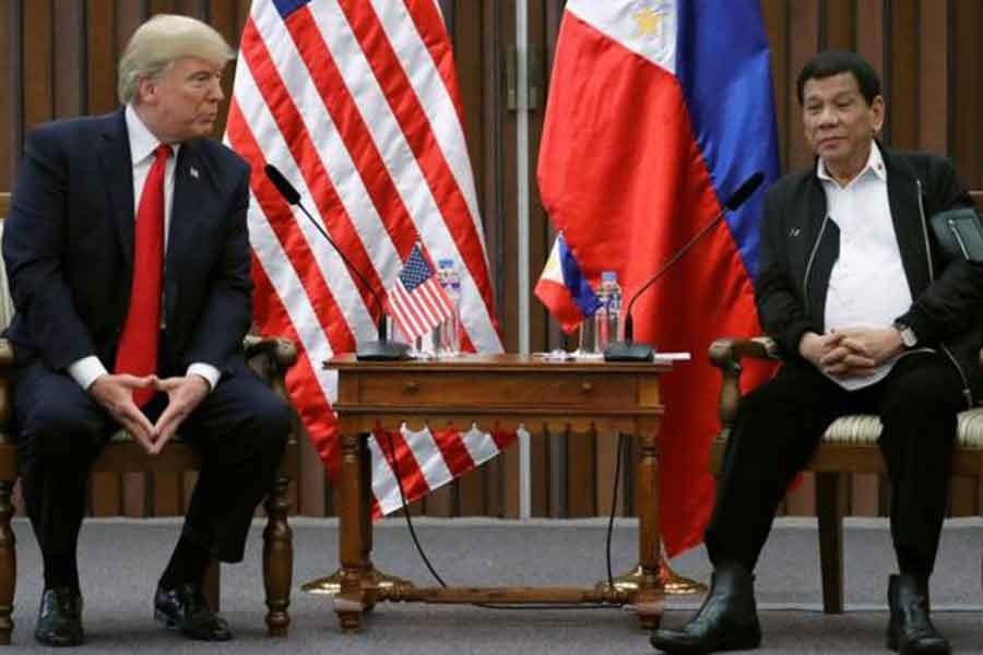 Trump: Duterte ile ilişkimiz harika