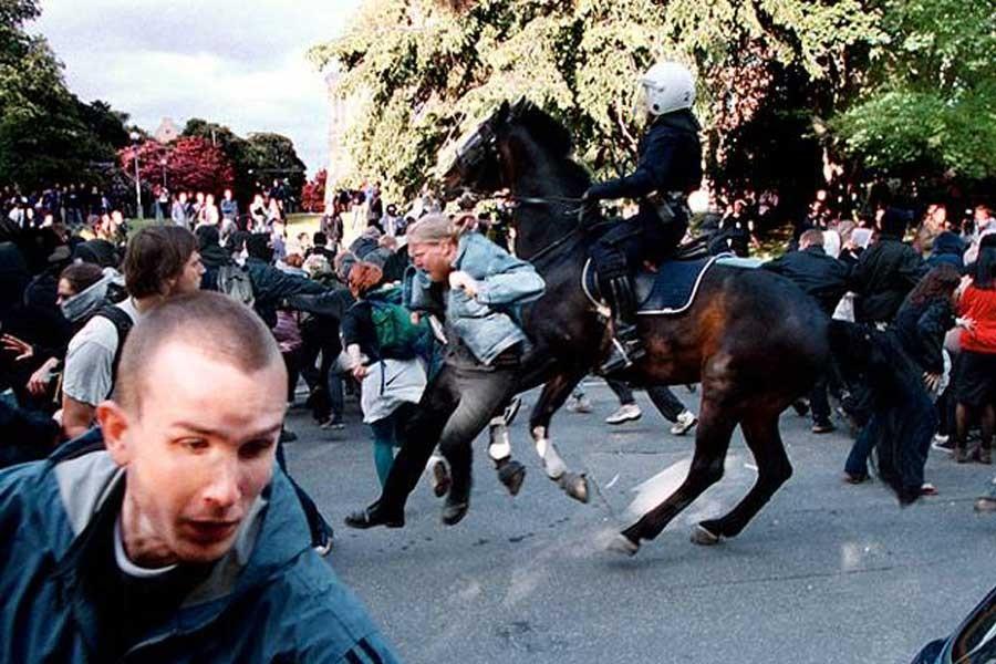 AB zirvesi öncesi İsveç polisinden geniş güvenlik önlemleri