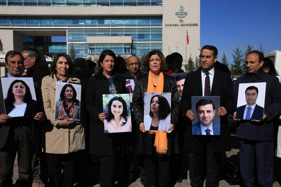 HDP, hükümetin savunmasına karşı AİHM'e görüş bildirdi