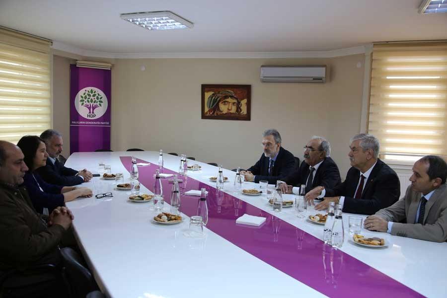Emek ve meslek örgütlerinden HDP ziyareti: Destek bekliyoruz