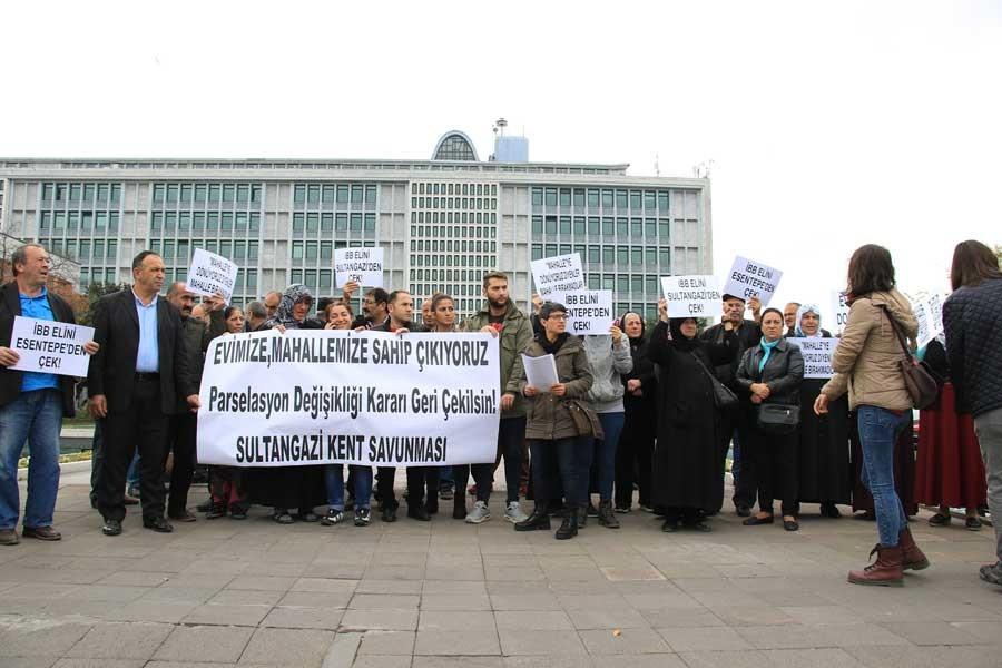 İBB'ye 'rant için değil halk için çalış' çağrısı
