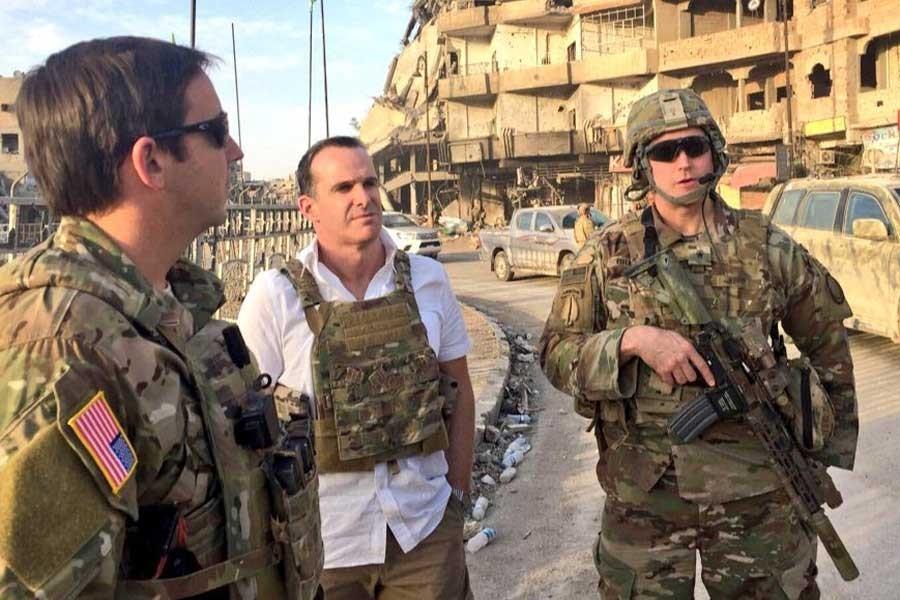ABD Başkanı Trump'un Temsilcisi McGurk, Rakka'da