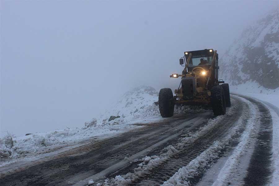 Kar yağışı yurtta etkisini göstermeye başladı