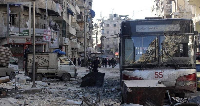 Suudi destekli İslam Ordusu'ndan Şam'a füze saldırısı