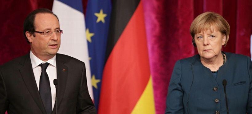 Merkel ve Hollande yarın Putin'le Ukrayna'yı konuşacak