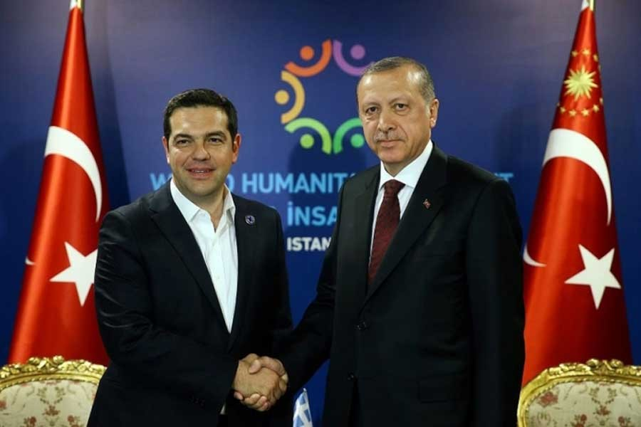 Atina'da Erdoğan yasağı