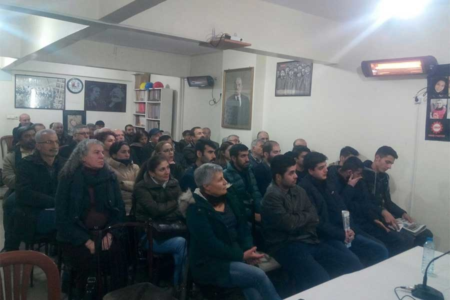 EMEP'ten Malatya, Kocaeli ve Antep'te Ekim Devrimi paneli