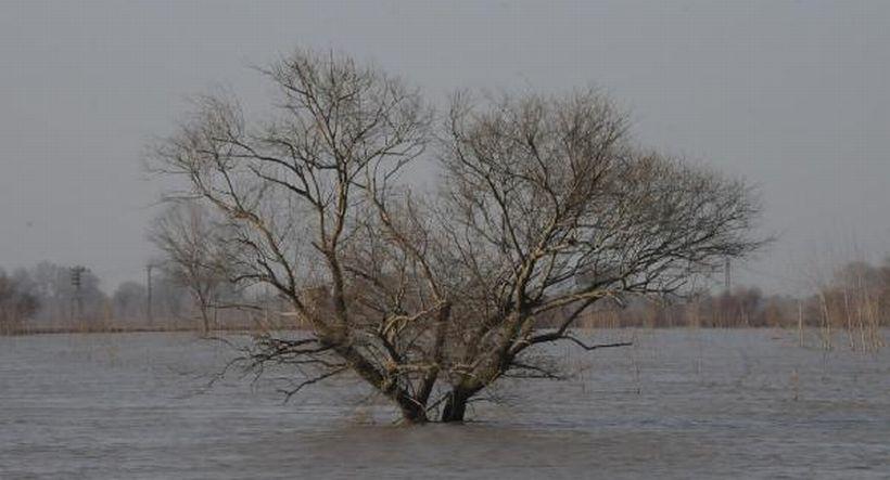 Taşkın suları İpsala'ya dayandı