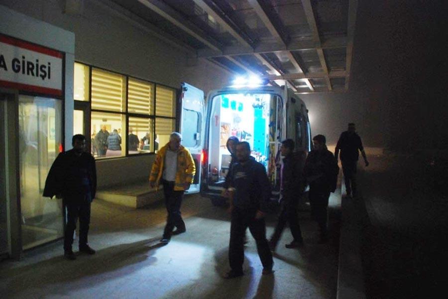 Kastamonu'da 50 inşaat işçisi, yemekten zehirlendi
