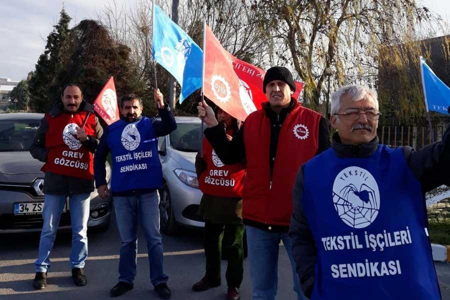 Şark Mensucat'ta sendikalaşan işçiler işten atıldı