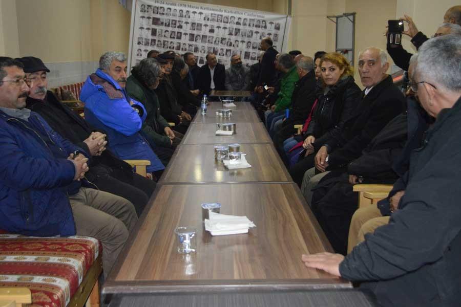 Alevi kurum temsilcilerinden Maraş anmasına katılım çağrısı