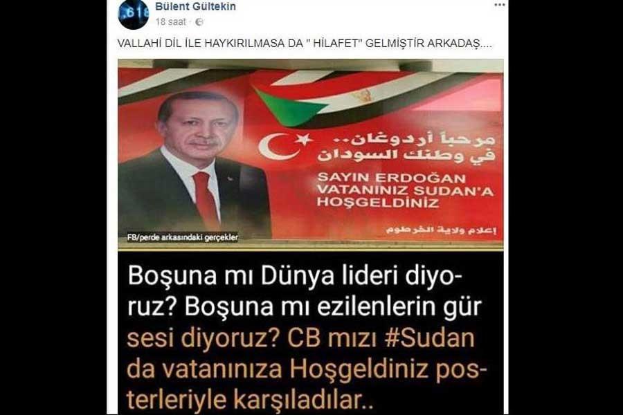 AKP'li Başkan: Hilafet gelmiştir arkadaş