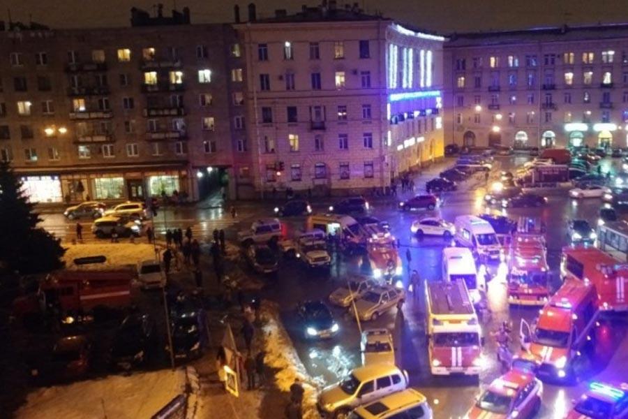 St. Petersburg'da süpermarkete saldırı: 13 yaralı