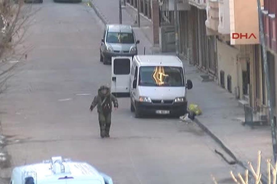 Patlayıcı yüklü minibüsle ilgili 11 kişi tutuklandı