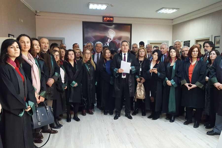 İzmir Barosu: OHAL derhal sonlandırılmalı