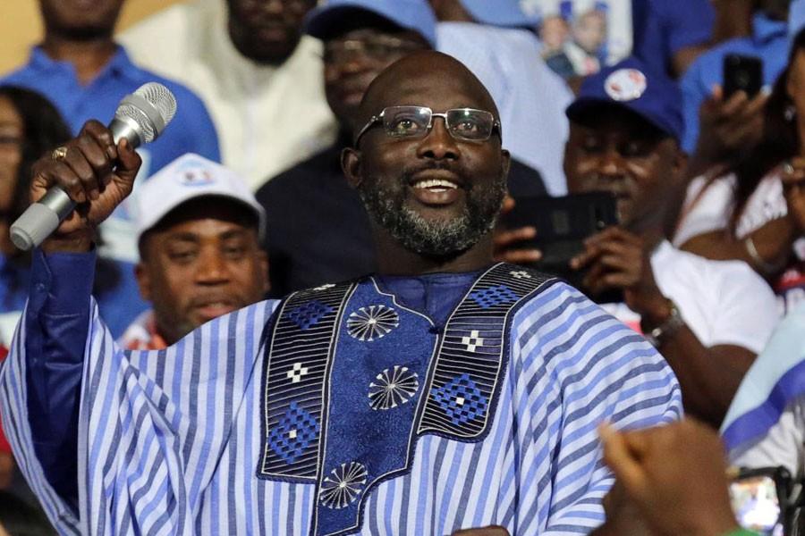George Weah, Liberya'nın yeni devlet başkanı seçildi