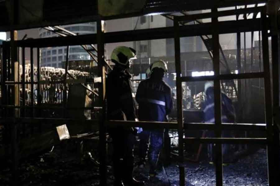 Hindistan'ın Mumbai kentindeki lokantada yangın: 14 ölü