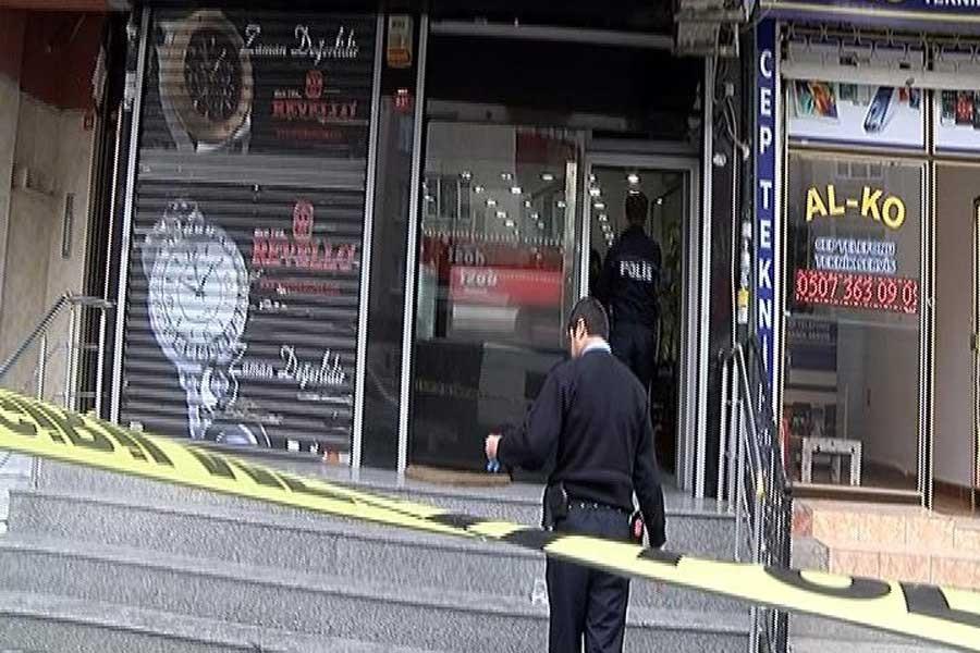 Esenler'de kuyumcu soygunu sırasında çatışma: 2 ölü 1 yaralı