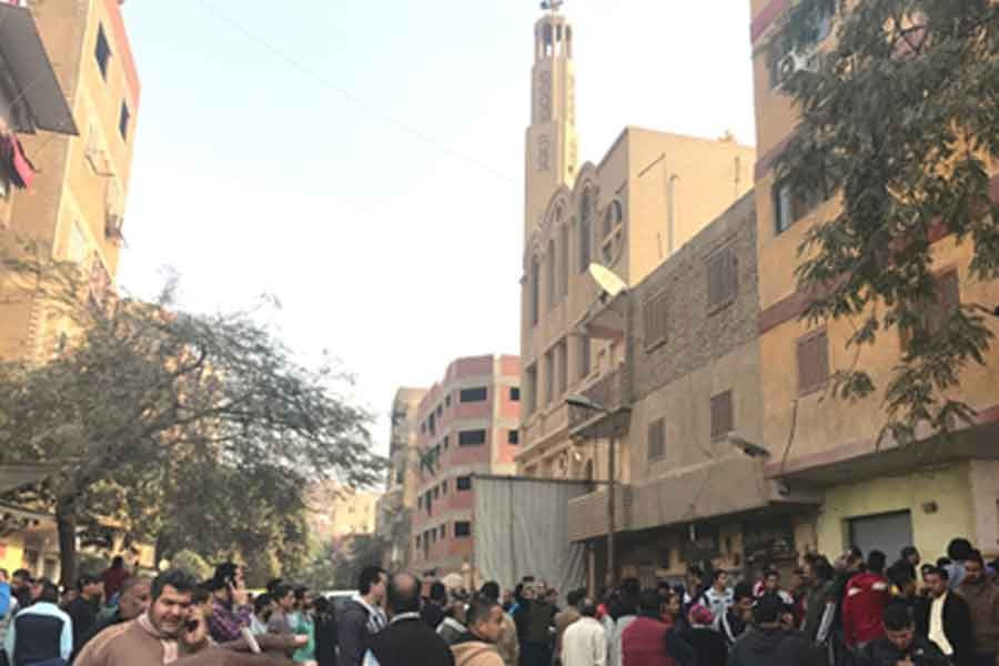 Mısır'da kiliseye silahlı saldırı: 9 ölü 5 yaralı