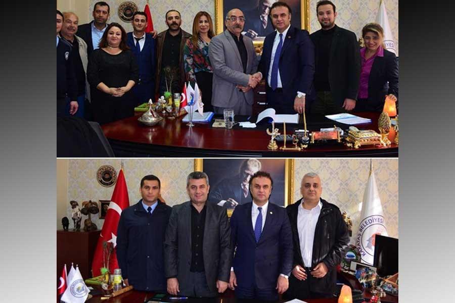 Karataş Belediyesinde memur ve işçilerin TİS'i imzalandı