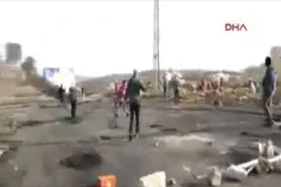 Filistin'de protesto edenlere ateş açıldı: 7 yaralı