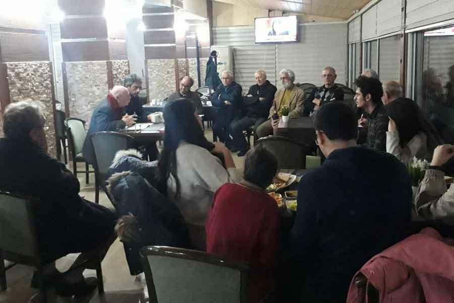 Balçova'da edebiyat söyleşisi: Özyalçıner ve Zariç katıldı
