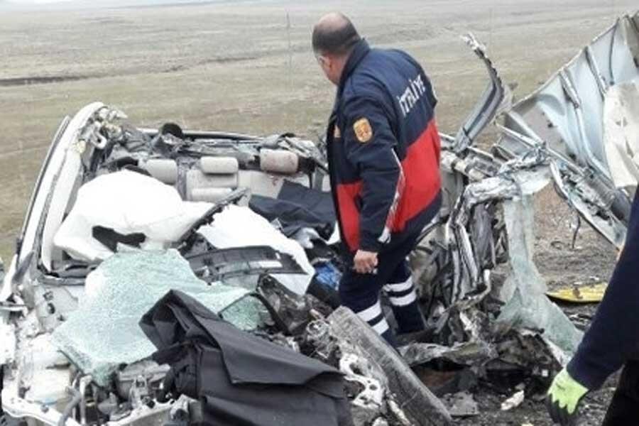 Ağrı'da kaza: 1'i bebek 4 ölü, 1 yaralı
