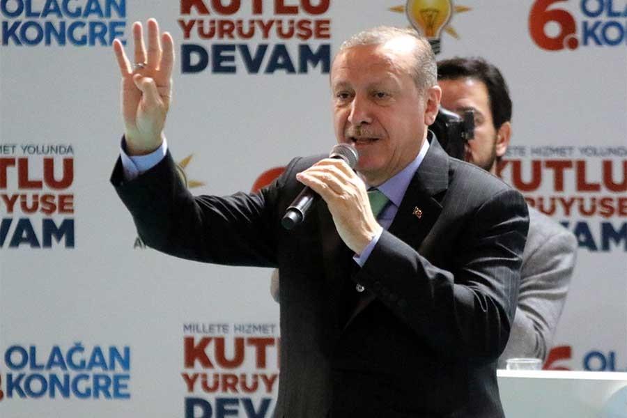 Erdoğan 'Afrin', taşeron işçi 'Kadro' dedi