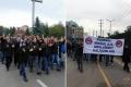 MESS dayatmalarına karşı yürüyüş yapan metal işçileri