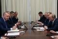 Berlin\'de düzenlenen Libya Konferansı öncesi görüşme yapan Türkiye ve Rusya heyetleri