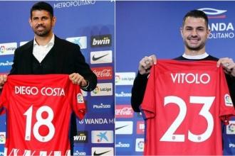 A. Madrid'de çifte imza: Costa ve Vitolo resmen takımda
