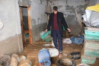 HESsuyu yüzünden evleri çamura gömüldü
