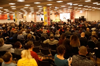 Berlin'de Rosa Luxemburg Konferansı: Bütün iktidar halka