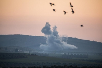 EMEP: Fraternity of peoples is bombed in Afrin