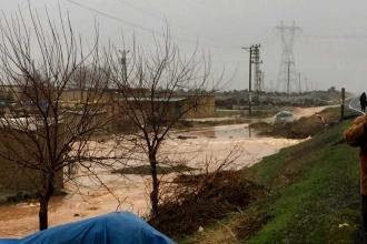 Urfa'da yağmur duasına çıkılan ilçeyi sel aldı