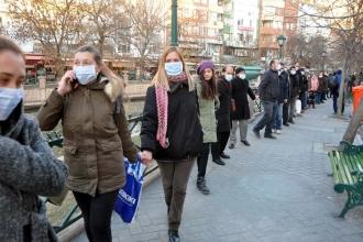 Eskişehir'de termik santrale karşı insan zinciri oluşturuldu