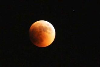 'Süper Kanlı Mavi Ay' tutulması gerçekleşti