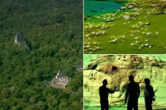 Guatemala ormanı altında gizli kalmış Maya kenti keşfedildi